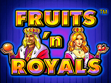 Казино и автомат Fruits And Royals