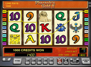 Слот Pharaohs Gold 2 в казино онлайн