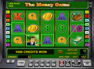 Играть на бонусы Вулкан в The Money Game